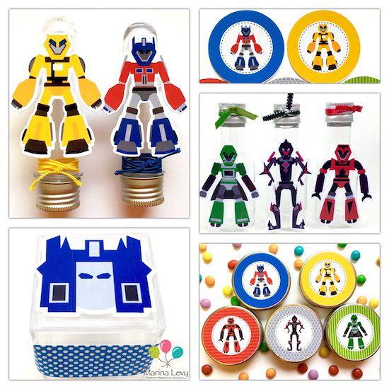 Transformers - Monte seu Kit