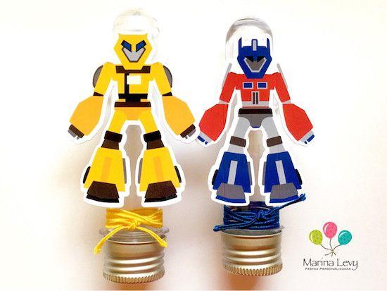 Transformers - Monte seu Kit  - Marina Levy Festas