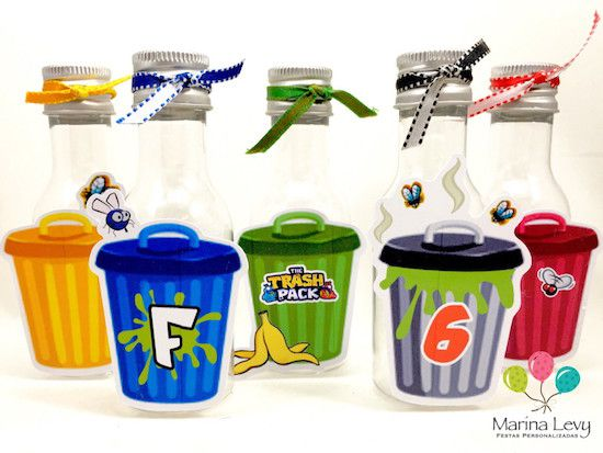 Trash Pack - Monte seu Kit  - Marina Levy Festas