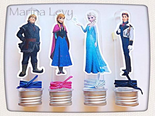 Tubete - Frozen  Filme