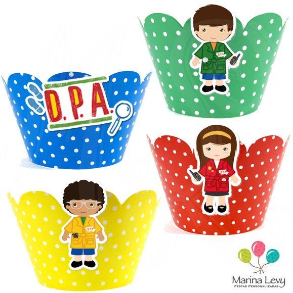 Wrapper para Cupcake - DPA