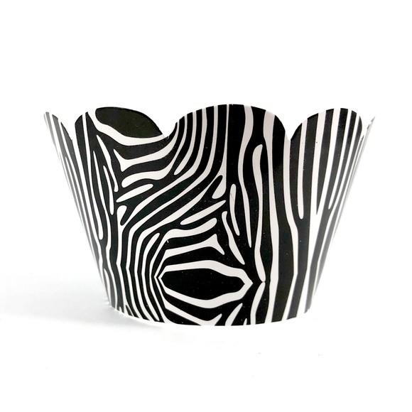 Wrapper para Cupcake - Zebra