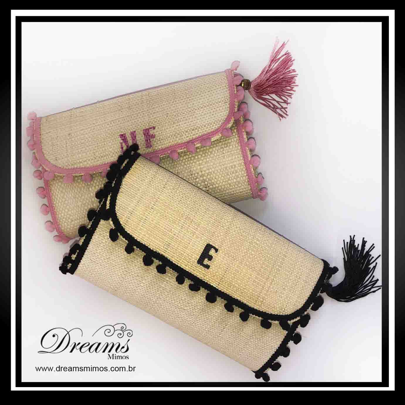 CLUTCH DE PALHA NATURAL