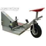 Aparador de grama traseiro para motocultivador - AGT700