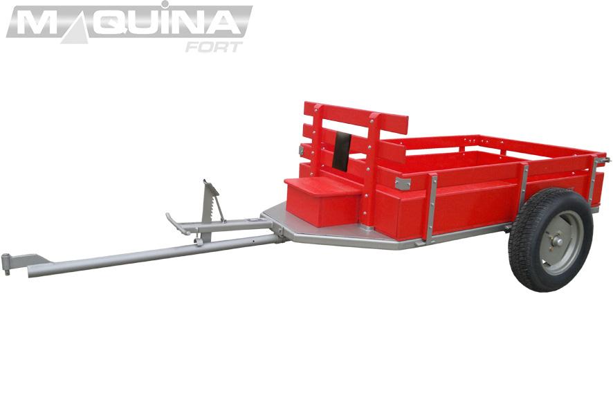 Carreta simples (sem tração) para motocultivador - 1600 R13