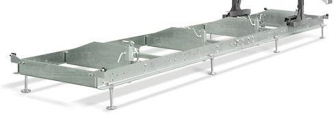Conjunto de Módulo de trilho adicional Mini-Serraria Compacta - Maquinafort