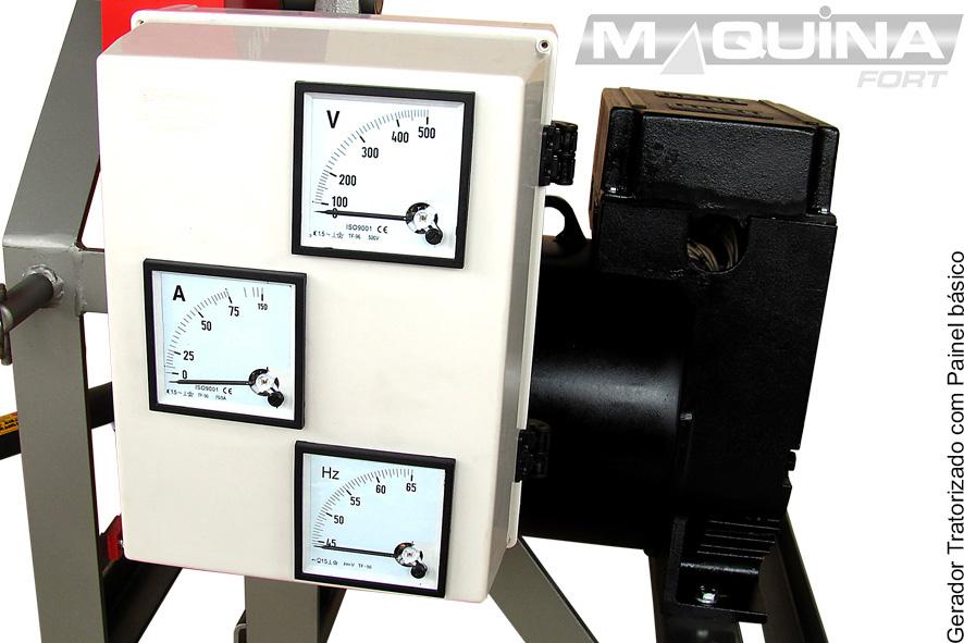 Gerador Tratorizado de 18Kva Trifásico para Trator (com Painel)