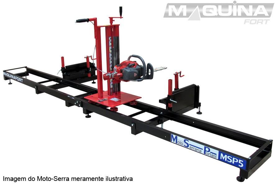 Moto-Serraria Portátil - MSP5 - Maquinafort