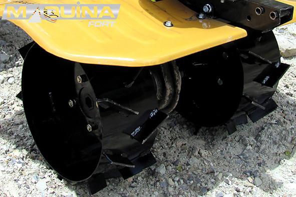 """Roda de ferro para motocultivadores - Aro 8"""""""