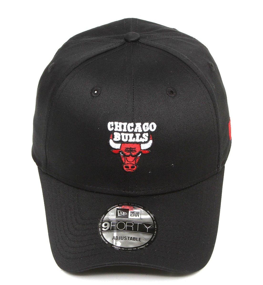 ... Boné new era aba curva snapback chicago bulls preto - Soul Beach ... 6b3fccc06437b