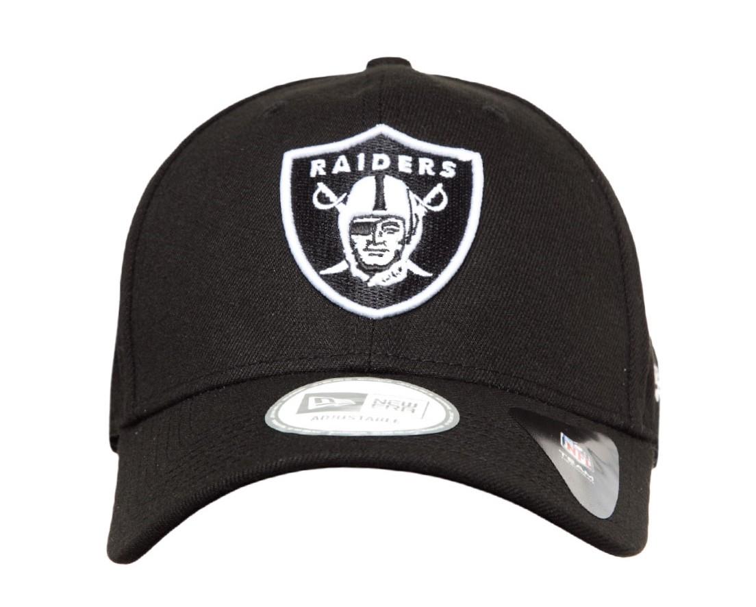 8211d107eb Boné New Era Snapback Oakland Raiders Aba Curva Preto - Loja Virtual ...