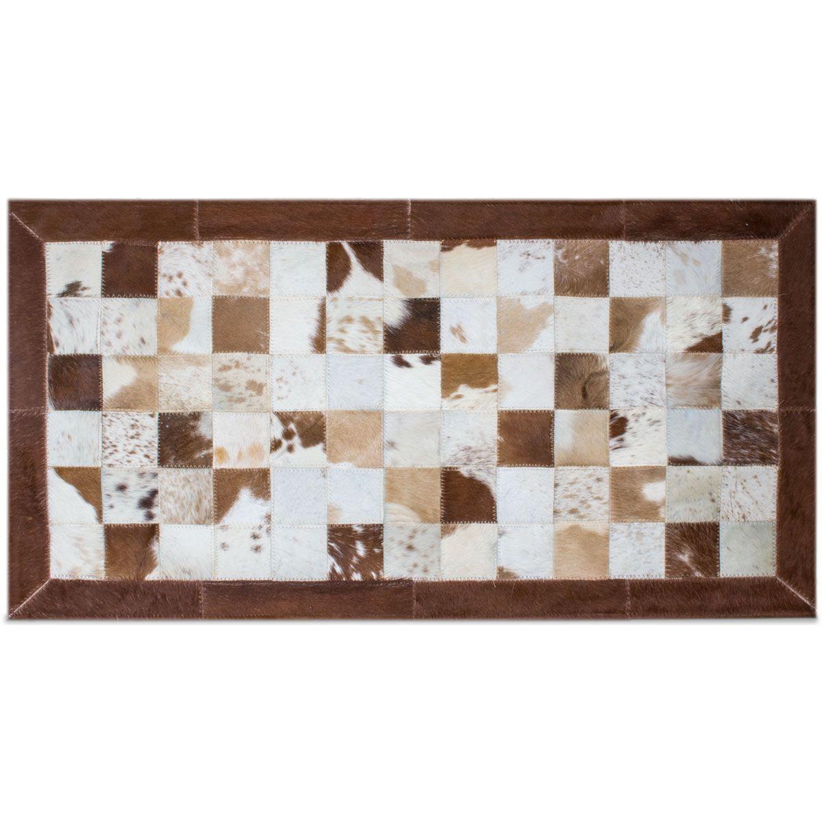 Kit Tapete  Beira Cama em Couro 0,50 x 1,00 cm