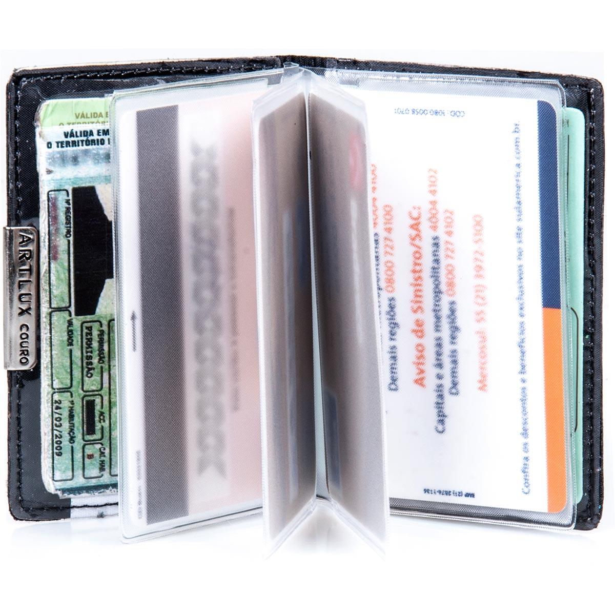 Porta Cartão com Visor