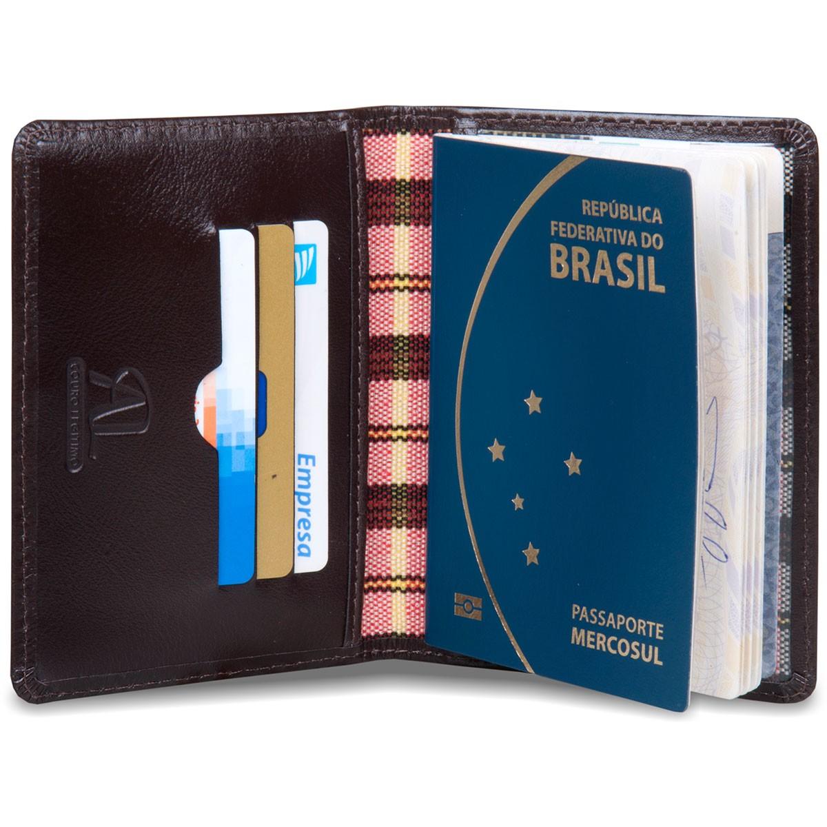 Porta Passaporte Artlux