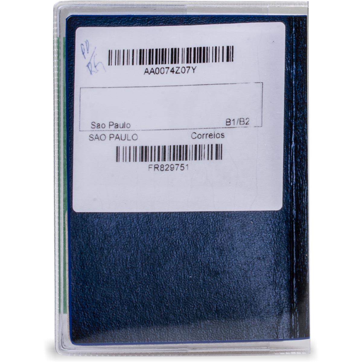 Porta Passaporte Transparente