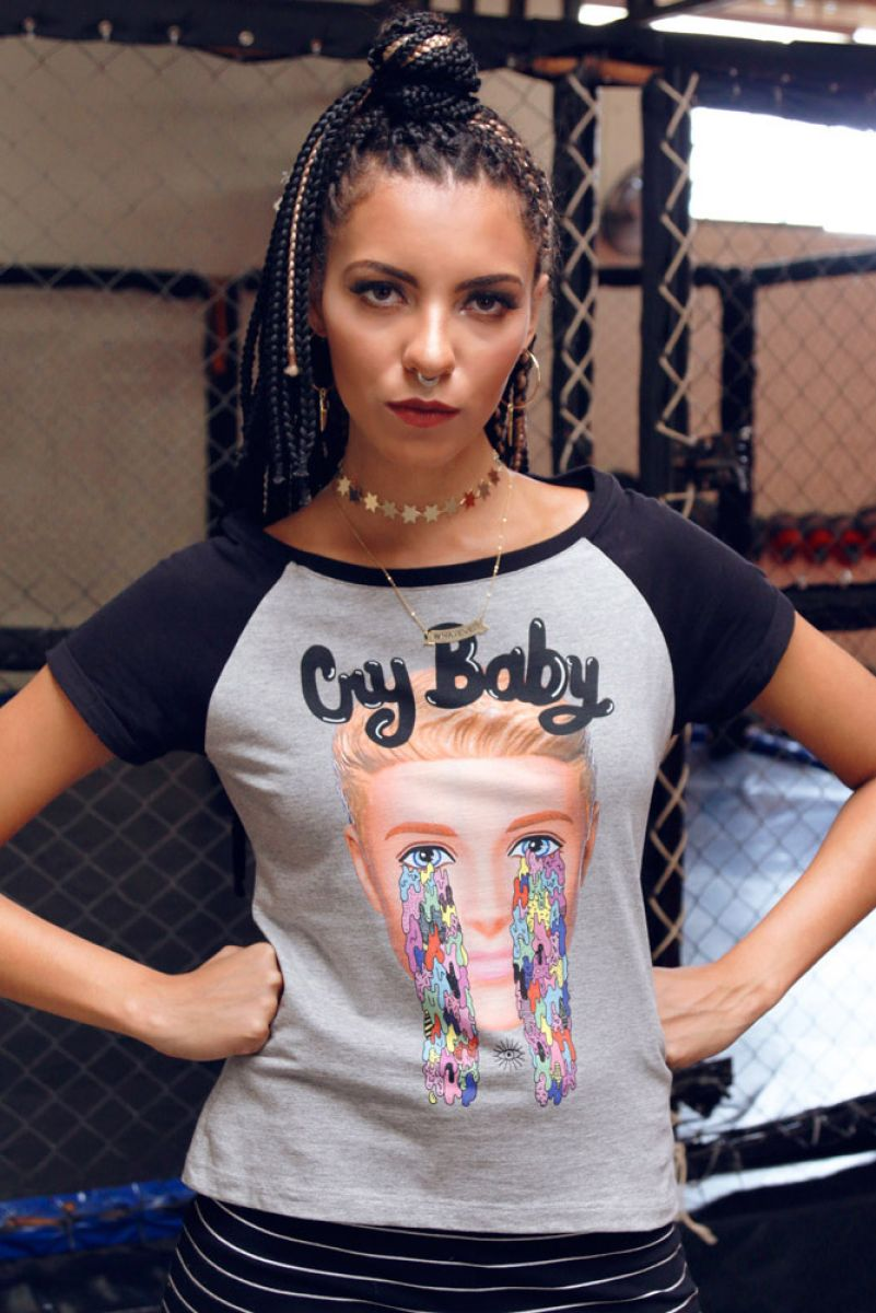 T-shirt Cry Baby