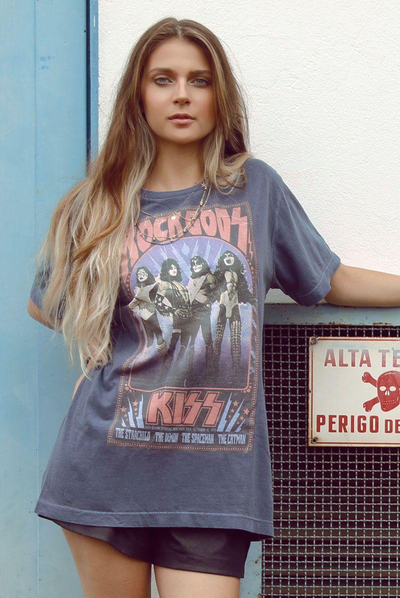 T-shirt Kiss - Rock Gods