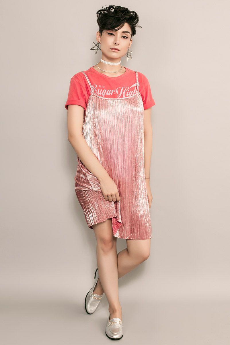 Vestido CELEB Pink