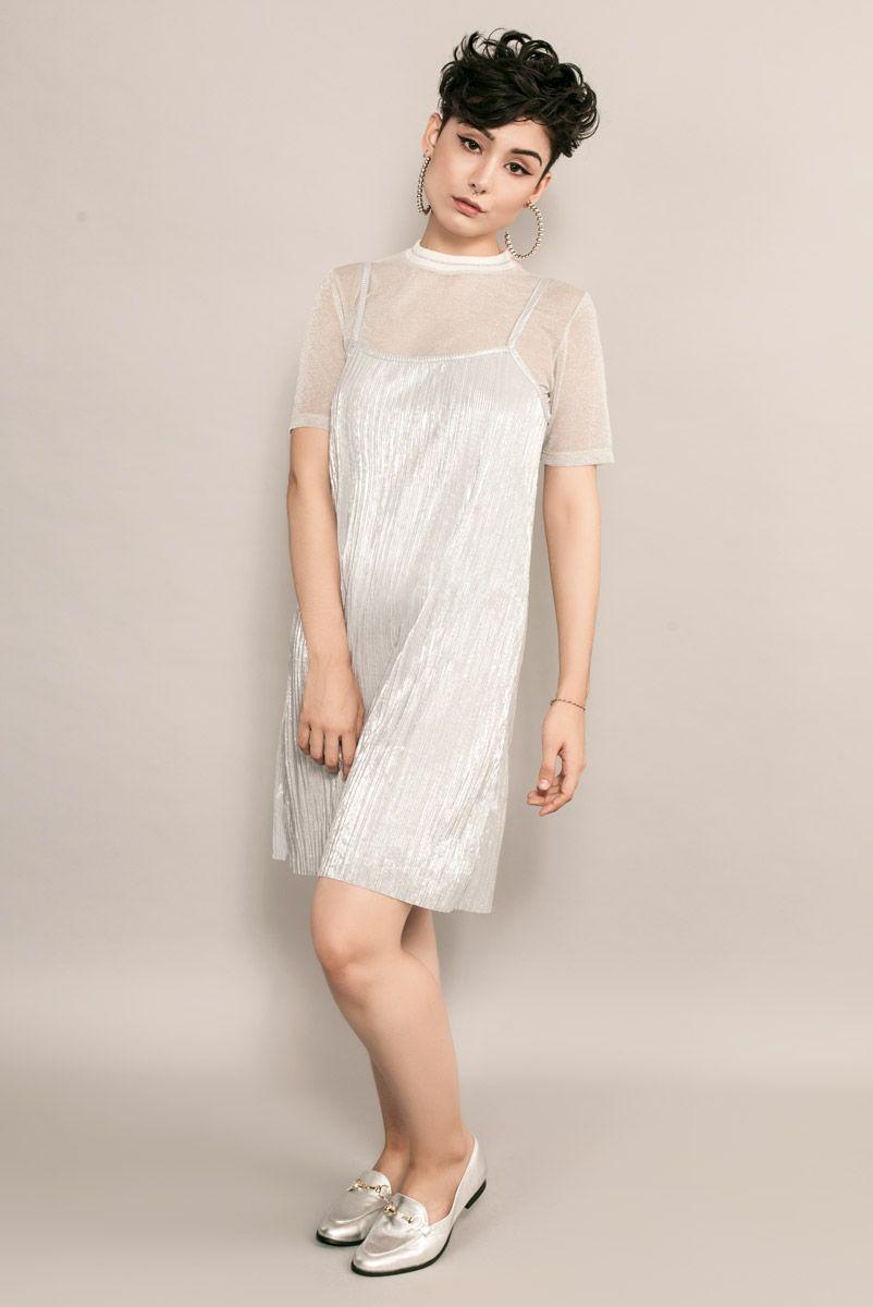 Vestido CELEB Silver
