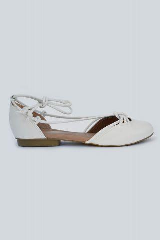Ballet Flat White