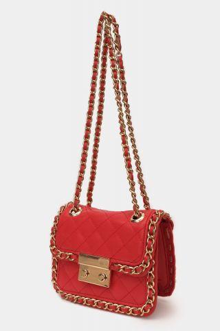 Bolsa Chain Red
