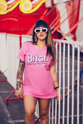 T-shirt Bitch, betterhavemymoney