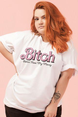 T-shirt PLUS Bitch