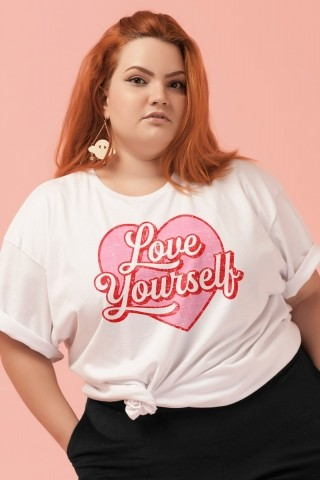 T-shirt PLUS Love Yourself