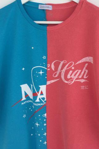 T-shirt REUZIO | nasa + sugar | Tamanho: GG