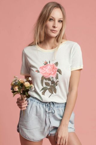 T-shirt Roses are Mint