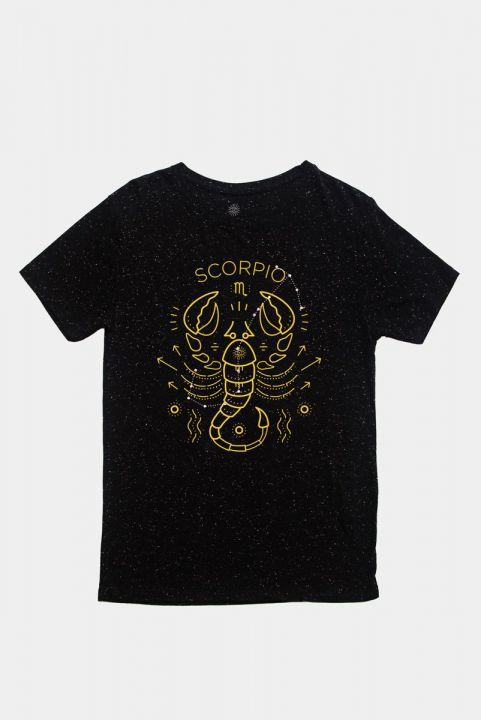 T-shirt Signos Zodiaco - ESCORPIAO