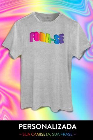 T-shirt Word Art - PERSONALIZADA