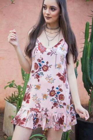 Vestido Slipdress Floral Jolene