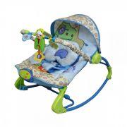 Cadeira De Descanso Rocker Vibratória e Musical Azul - Color Baby