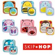 Kit Set de Pratos Zoo Skip Hop Vários Modelos