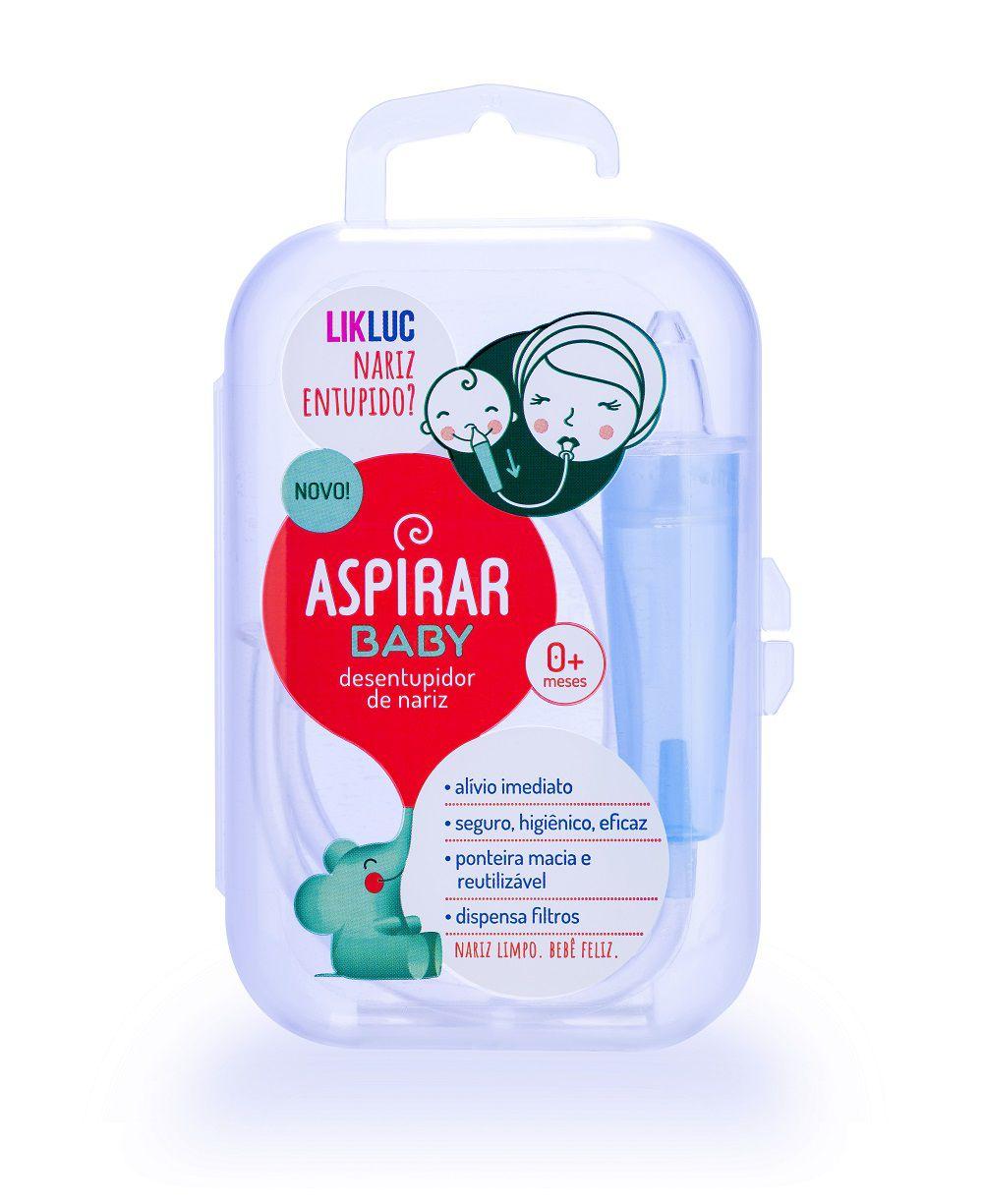 Aspirador Nasal Aspirar Baby para Bebês com Estojo - LIKLUC