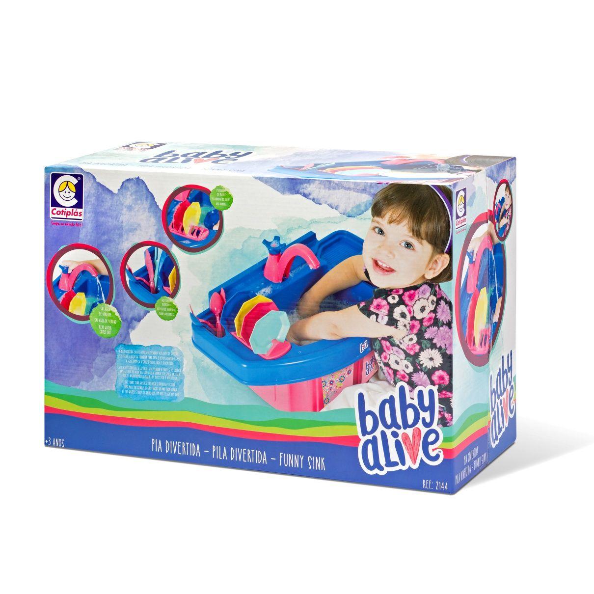 Baby Alive Pia Divertida - Cotiplás