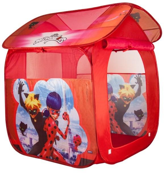 Barraca Toca Casinha Portátil Ladybug  - Zippy Toys