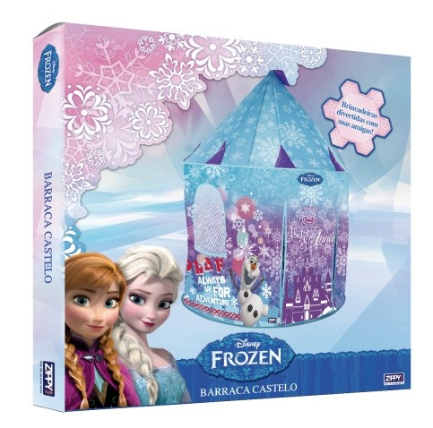 Barraca Toca Castelo da Frozen Disney - Zippy Toys