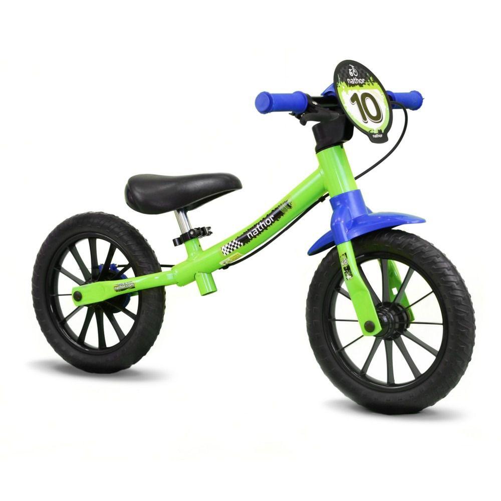 Bicicleta Infantil Masculina Aro 12 Balance sem Pedal - Nathor