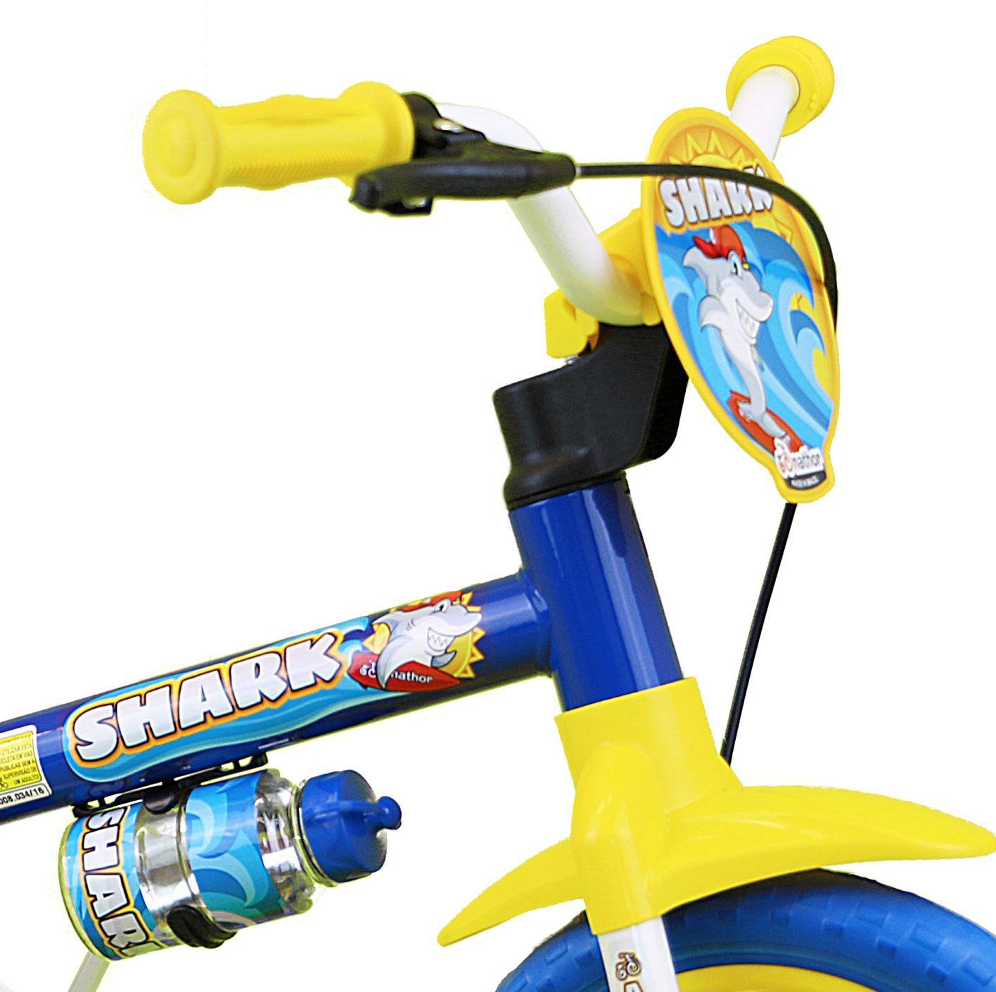Bicicleta Infantil Masculina Aro 12 Shark - Nathor
