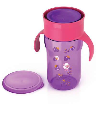 Copo Natural 340ml Roxo Philips Avent
