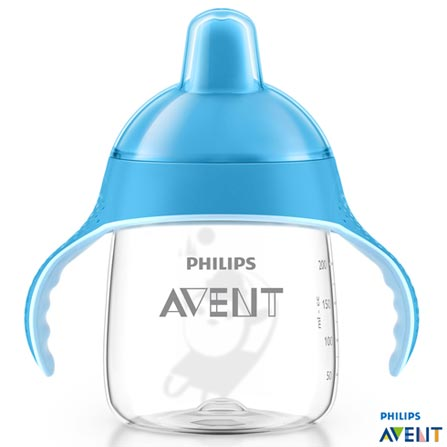 Copo Pinguim 260ml  Azul 12m+ Philips Avent