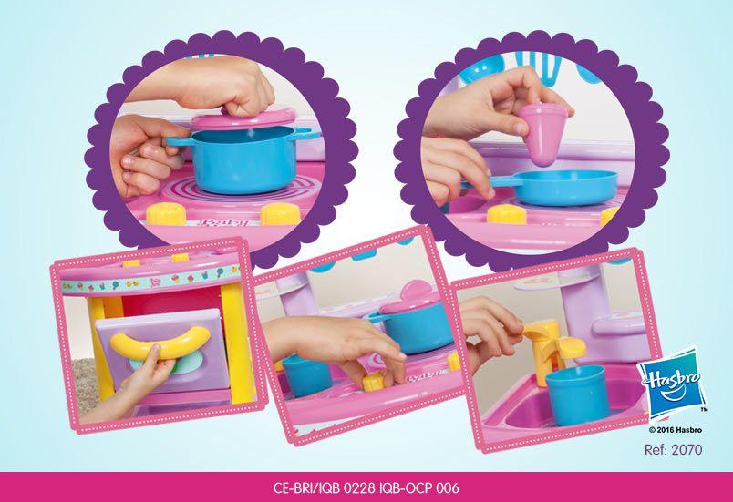 Cozinha Divertida Infantil Baby Alive - Cotiplás