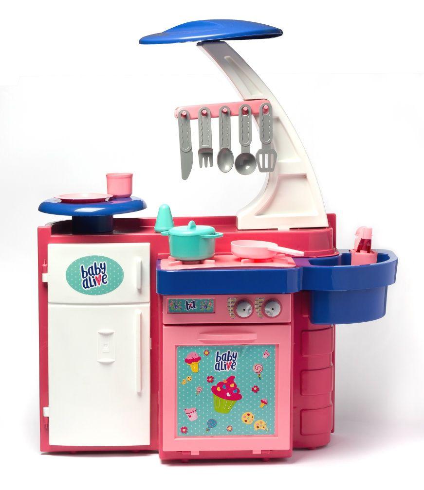 Cozinha Infantil Baby Alive Cheff Gourmet - Cotiplás