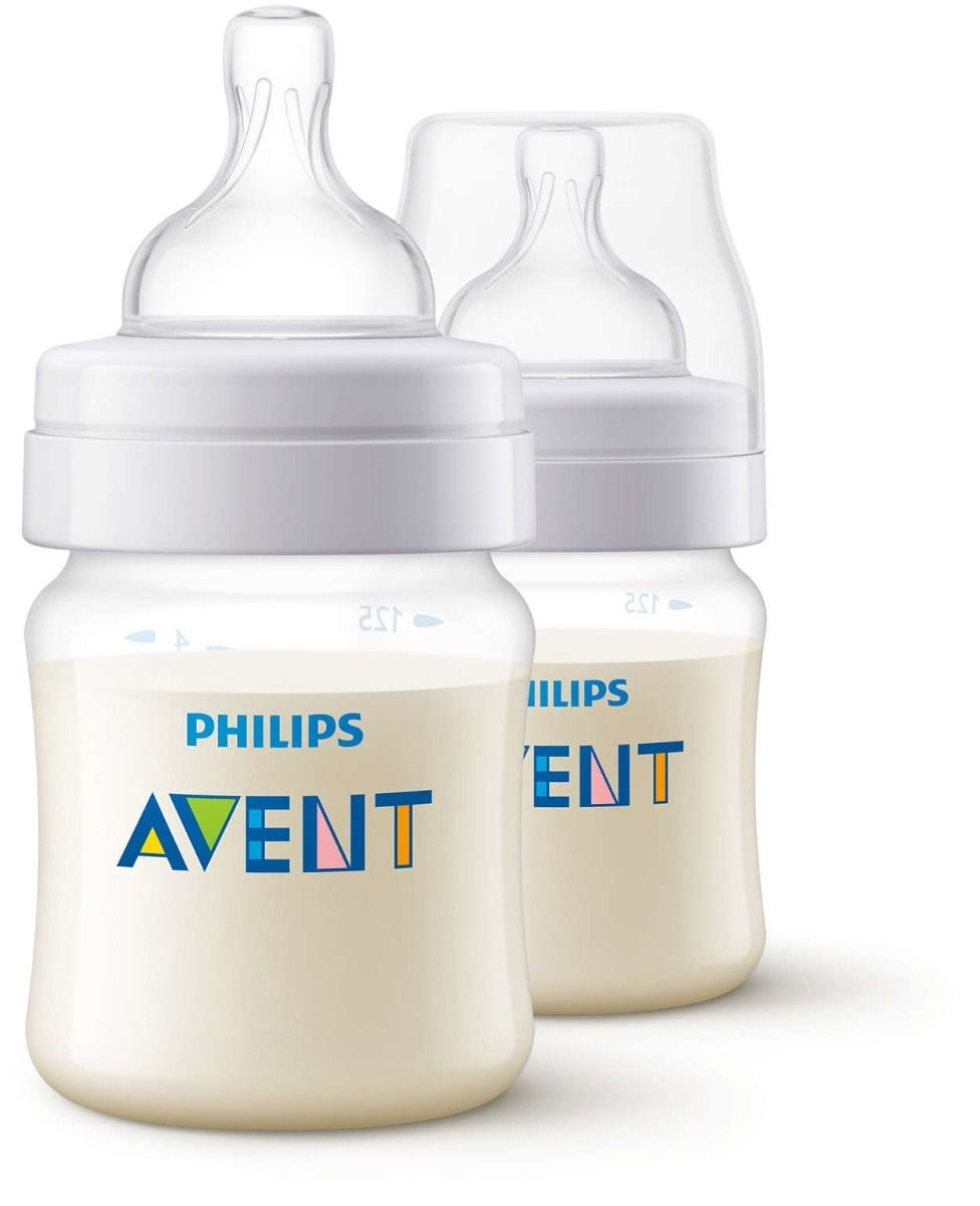 Kit com 2 Mamadeiras 125ML Classic+ Philips Avent