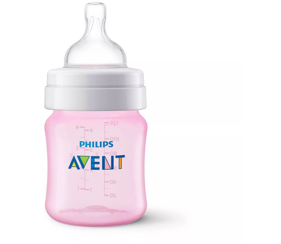 Mamadeira Classic PP 125ML ROSA N1 Philips AVENT