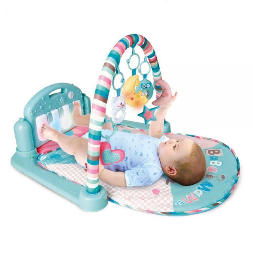 Tapete de Atividades para Bebê Musical com Piano Coruja - Color Baby