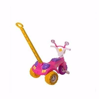 Triciclo Infantil Fofy com Haste - Cotiplás