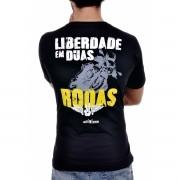 Camiseta Liberdade em Duas Rodas